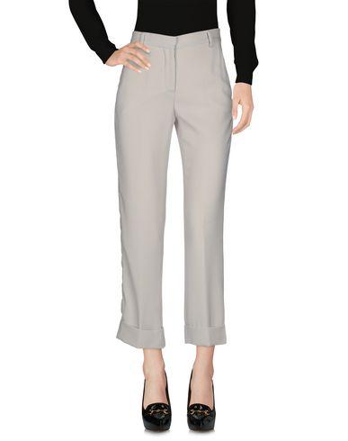 Фото 2 - Повседневные брюки от IRMA BIGNAMI светло-серого цвета