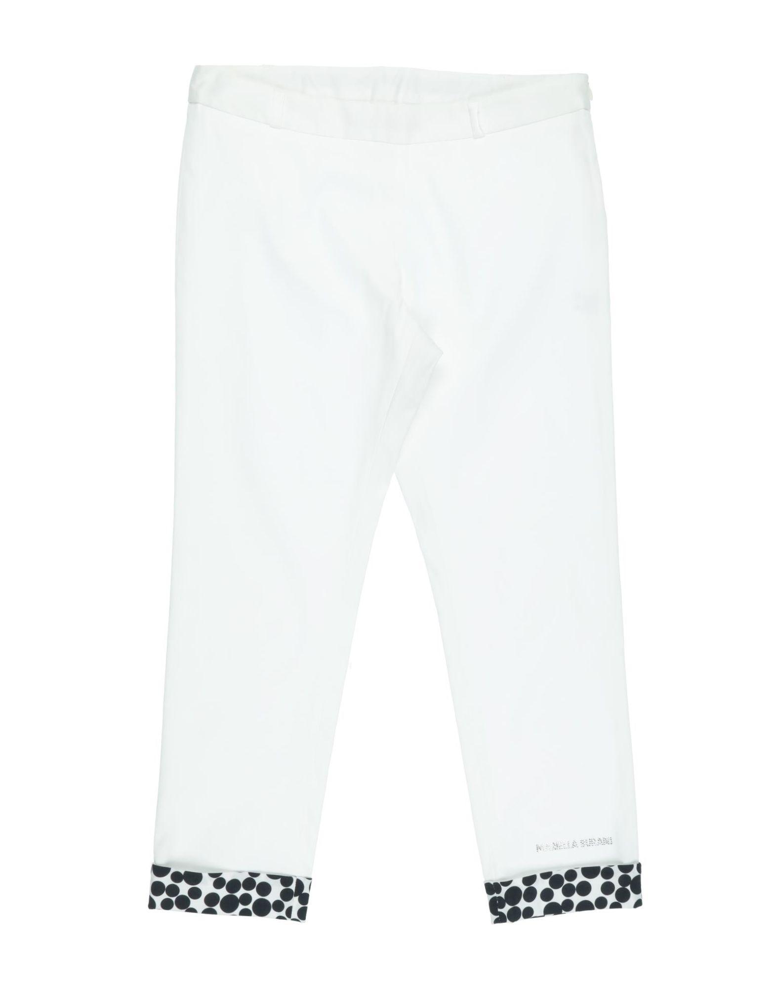 Mariella Burani Rose Kids' Casual Pants In White