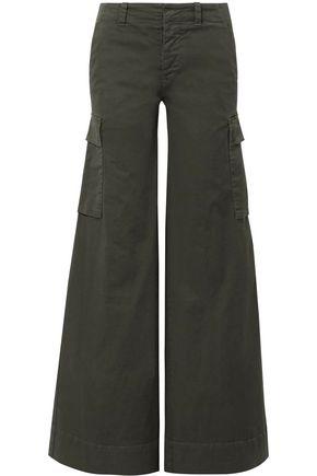 NILI LOTAN Twill wide-leg pants