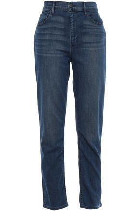 3x1 Colette cropped high-rise slim-leg jeans