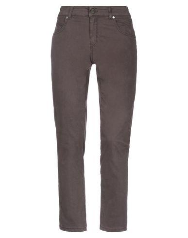 Купить Повседневные брюки от MARANI JEANS темно-коричневого цвета