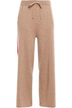 N.PEAL Mélange cashmere track pants