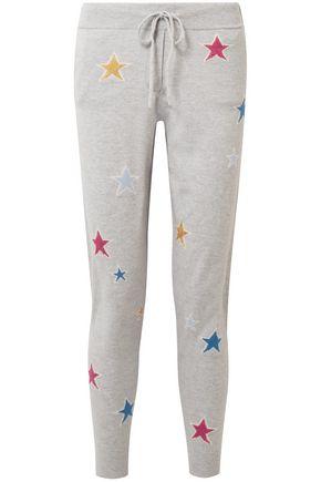 CHINTI & PARKER Acid Star cashmere track pants