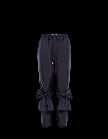 CASUAL TROUSER Blue 4 Moncler Simone Rocha Woman