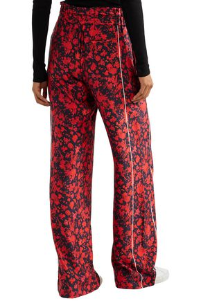 16b34aaf4d Mystery floral-print twill wide-leg pants | IRO | Sale up to 70% off ...