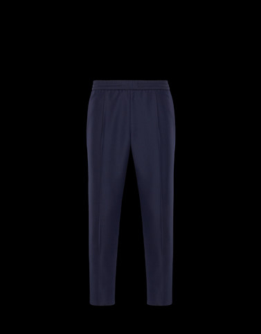 CASUAL TROUSER Dark blue Trousers