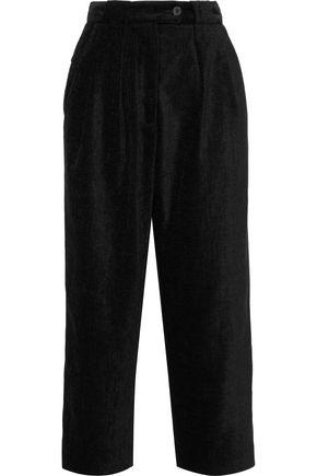 McQ Alexander McQueen Cropped canvas wide-leg pants
