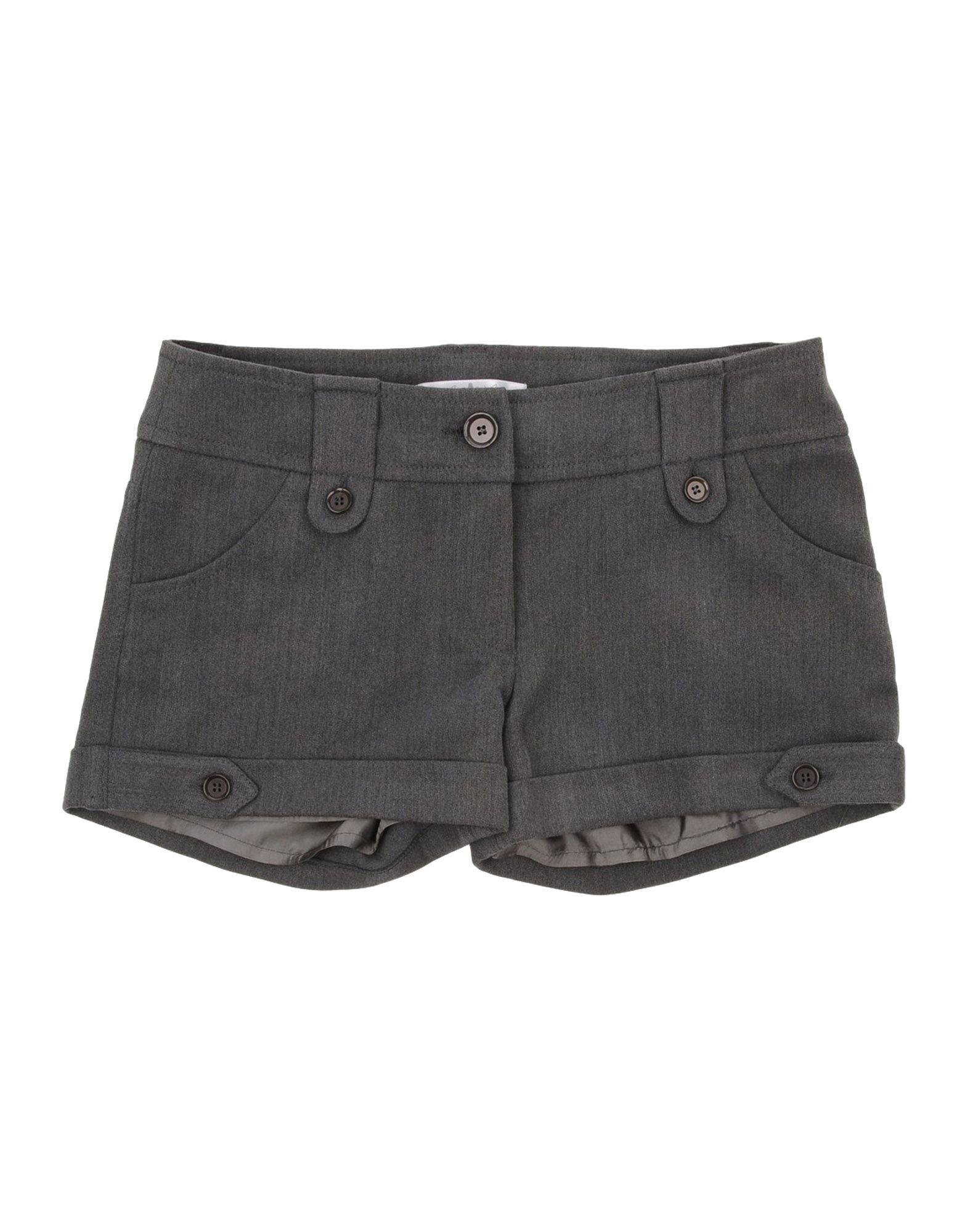 L:ú L:ú By Miss Grant Kids' Shorts In Gray