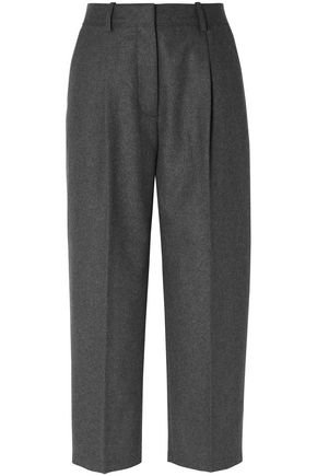 ACNE STUDIOS Cropped wool-blend straight-leg pants