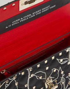 Средняя сумка на цепочке Spike.It от Valentino Garavani Undercover