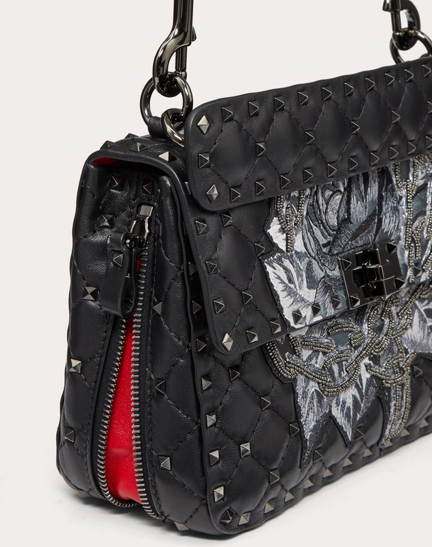 Medium Valentino Garavani Spike.Up Undercover Bag