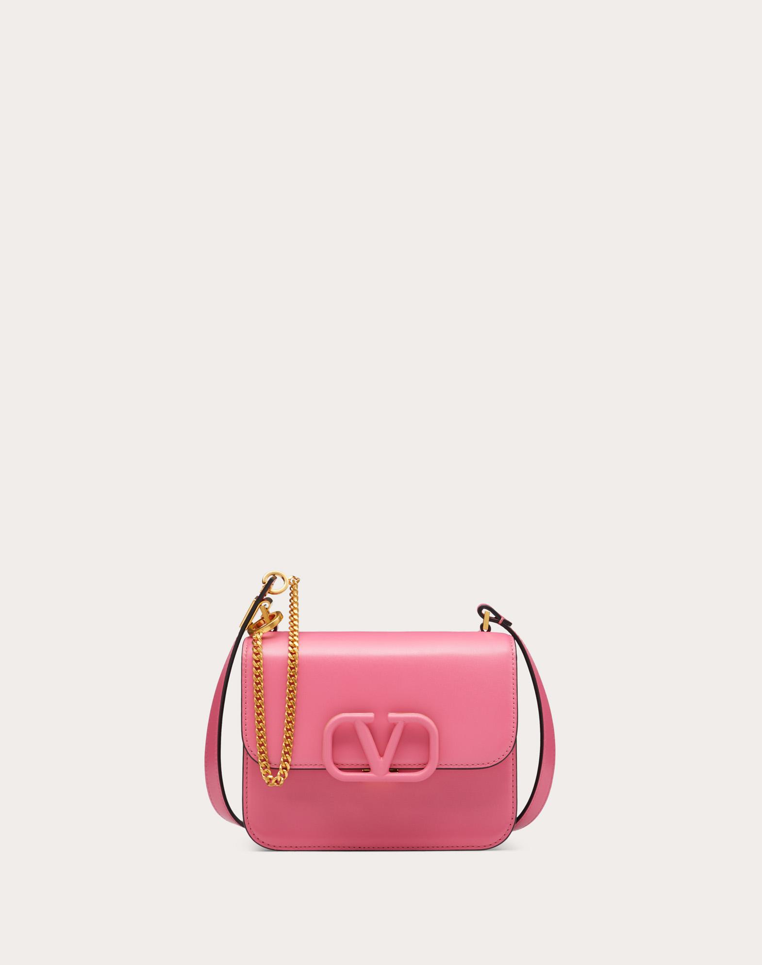 Small VSLING Smooth Calfskin Shoulder Bag