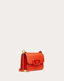 Small VSLING Smooth Calfskin Shoulder Bag