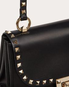 Small Rockstud Smooth Calfskin Crossbody Bag