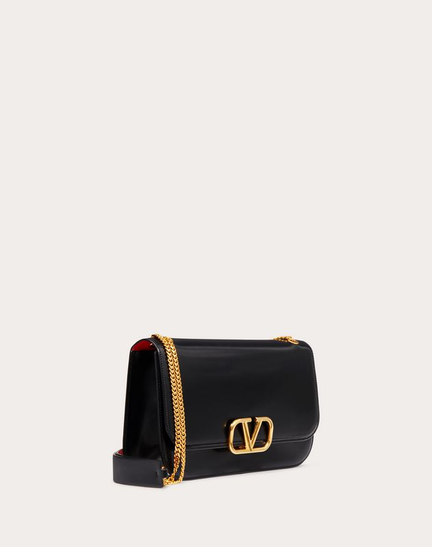 VLOCK Brushed Calfskin Shoulder Bag