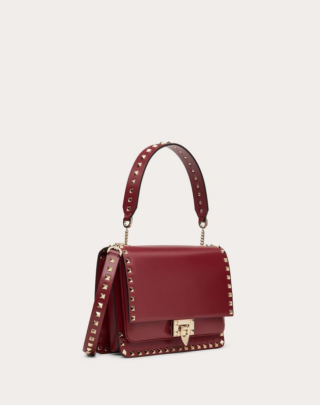 Rockstud Smooth Calfskin Crossbody Bag
