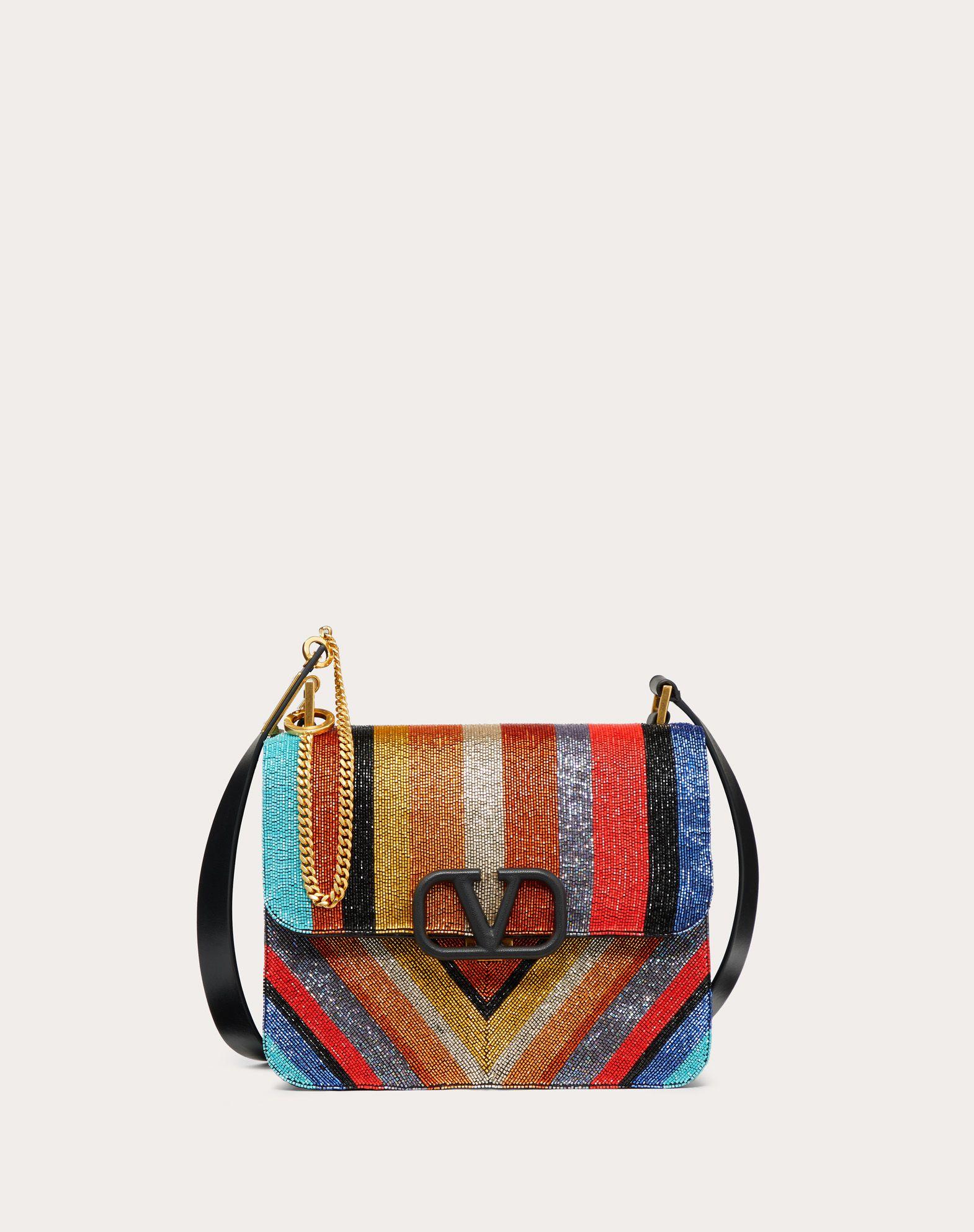 VSLING Beaded Shoulder Bag