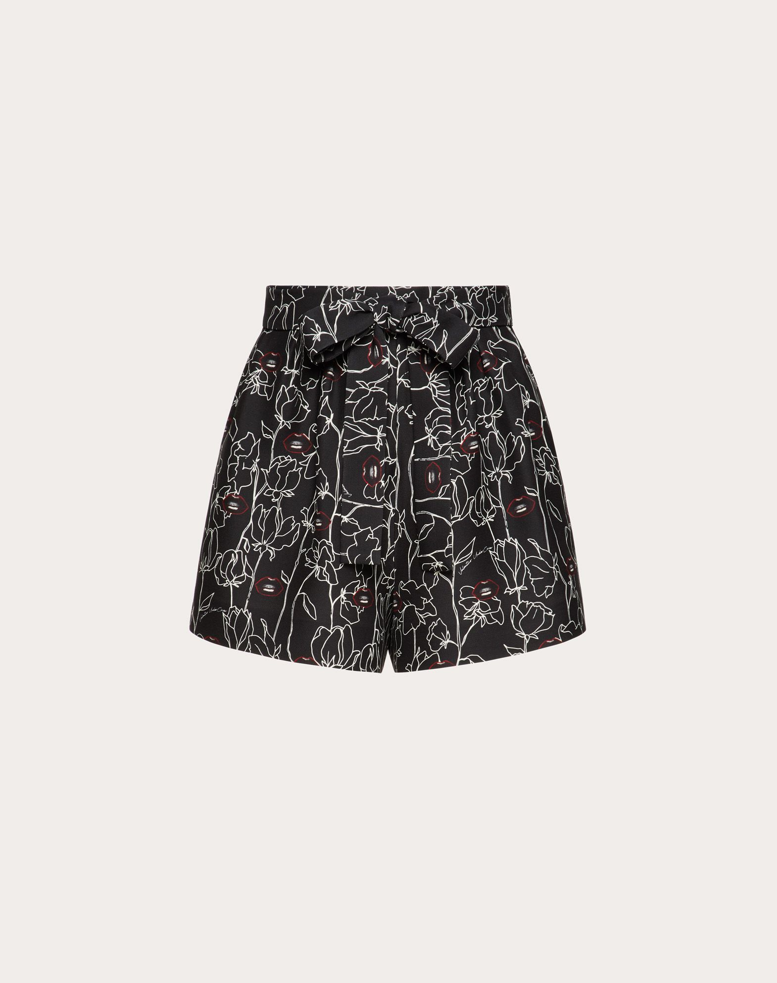 Shorts stampato Undercover in Crepe Couture