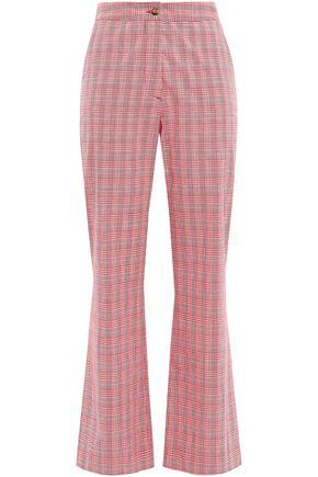 STELLA JEAN Cotton-blend bootcut pants