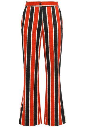STELLA JEAN Stretch-cotton bootcut pants