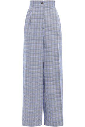 STELLA JEAN Cotton-blend wide-leg pants