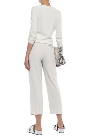 3.1 PHILLIP LIM Cropped stretch-crepe straight-leg pants