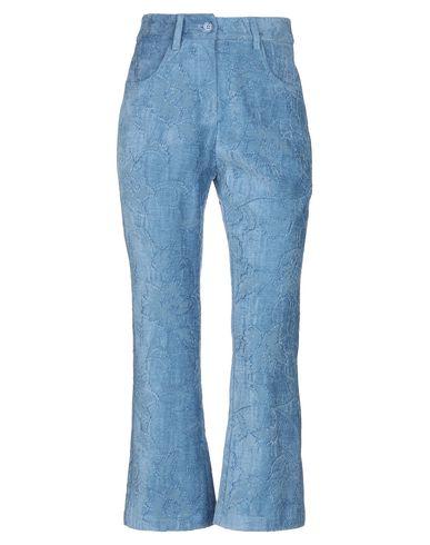 Фото - Повседневные брюки от REVISE небесно-голубого цвета