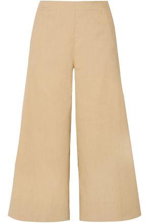 VINCE. Linen-blend culottes
