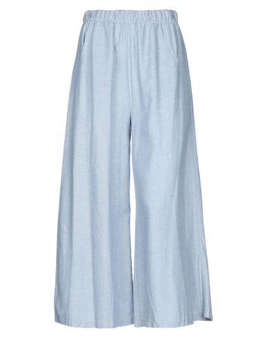 Фото - Повседневные брюки от ERNESTO CHIARI небесно-голубого цвета