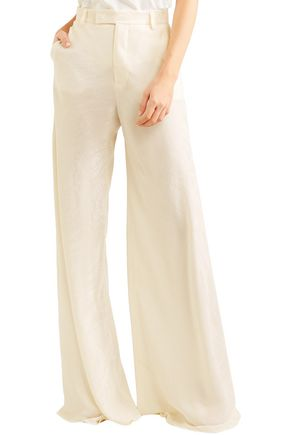 ETRO Silk-jacquard wide-leg pants