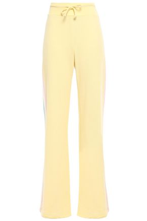 WILDFOX French terry wide-leg pants