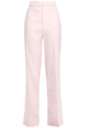 TIBI Twill straight-leg pants