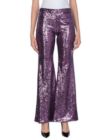 Фото - Повседневные брюки от P.A.R.O.S.H. фиолетового цвета