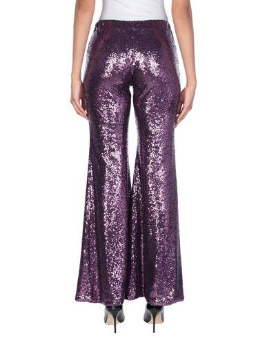Фото 2 - Повседневные брюки от P.A.R.O.S.H. фиолетового цвета