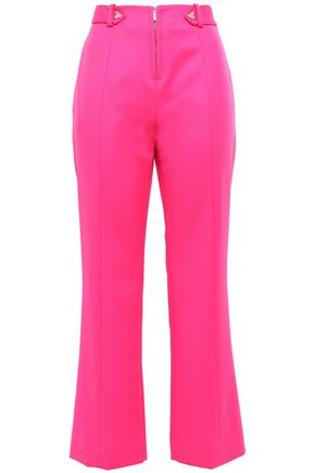 MUGLER Studded wool kick-flare pants