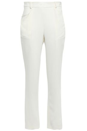 MUGLER Crepe tapered pants