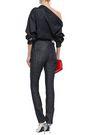 MUGLER Zip-detailed high-rise slim-leg jeans