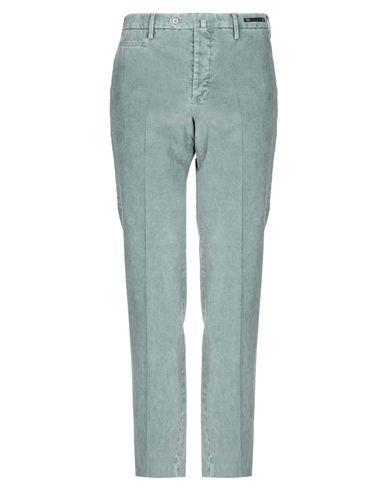 Фото - Повседневные брюки от PT01 зеленого цвета