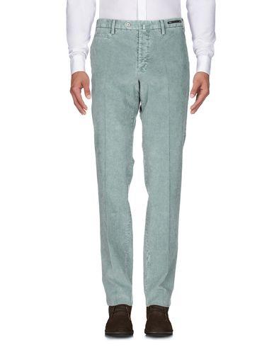 Фото 2 - Повседневные брюки от PT01 зеленого цвета