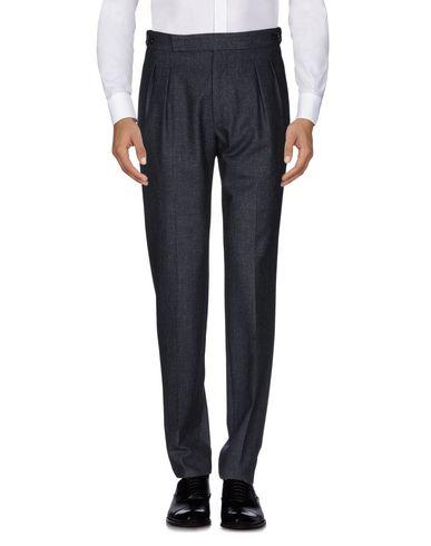 Фото 2 - Повседневные брюки от TAGLIATORE темно-синего цвета