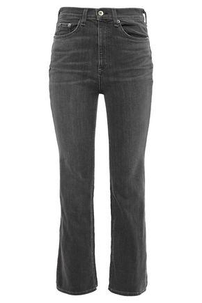 RAG & BONE High-rise kick-flare jeans