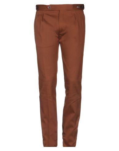 Фото - Повседневные брюки от TAGLIATORE коричневого цвета