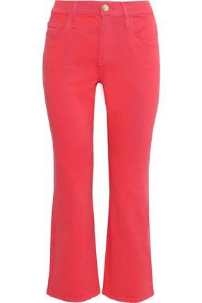 CURRENT/ELLIOTT The Kick high-rise kick-flare jeans