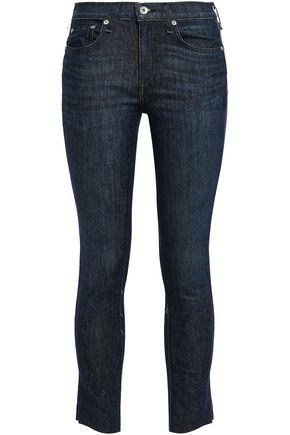 RAG & BONE Cropped low-rise skinny jeans