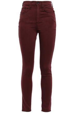 RAG & BONE Cotton-blend high-rise skinny pants