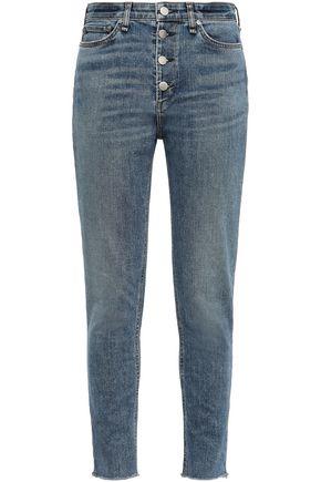 RAG & BONE Nina cropped mid-rise skinny jeans