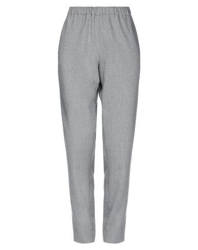 Фото - Повседневные брюки от BLUE LES COPAINS серого цвета