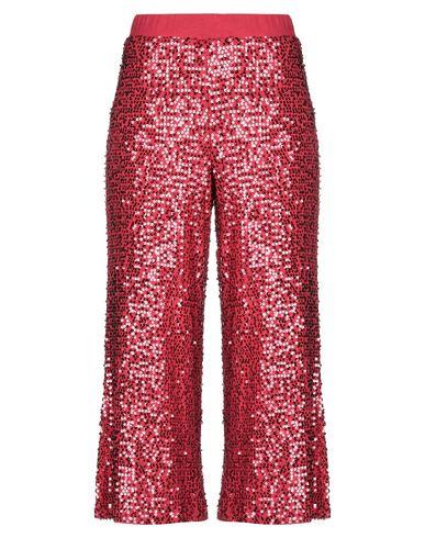 Фото - Повседневные брюки от P.A.R.O.S.H. красного цвета