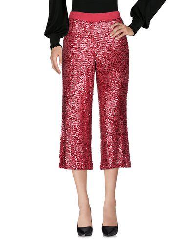 Фото 2 - Повседневные брюки от P.A.R.O.S.H. красного цвета