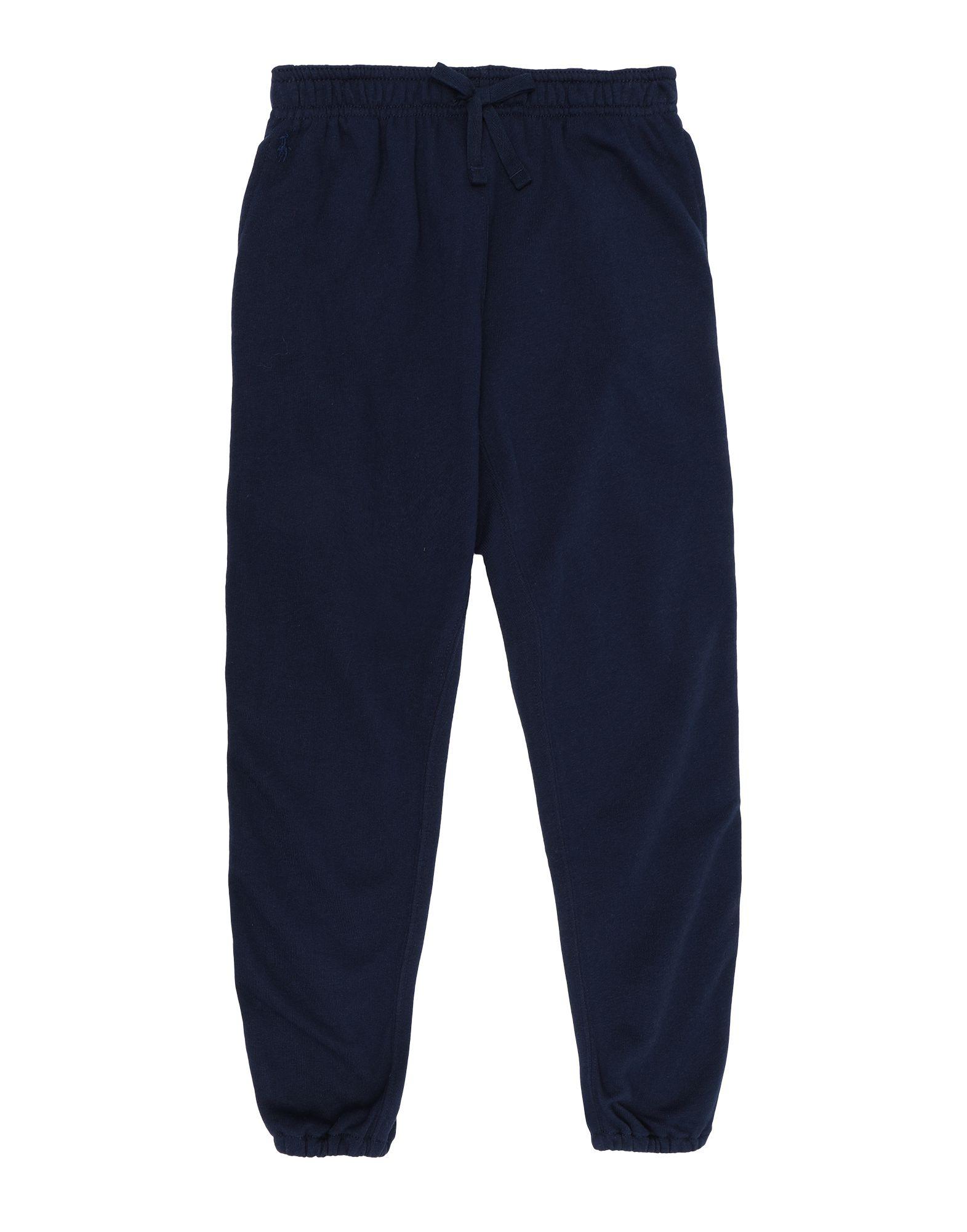 《セール開催中》RALPH LAUREN ガールズ 3-8 歳 パンツ ダークブルー 5 コットン 60% / ポリエステル 40% Side-Stripe French Terry Pant